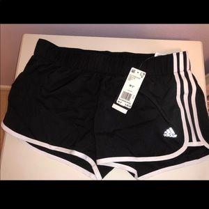 Black Adidas Woven Shorts